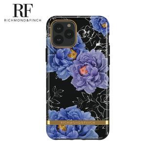 【Richmond&Finch】瑞典手機殼 金線框 -盛開牡丹(iPhone 11 Pro Max 6.5吋)