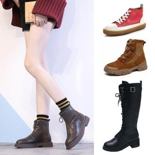 【LN】現貨 真皮優質熱銷馬丁靴/短靴O↘(多款任選)