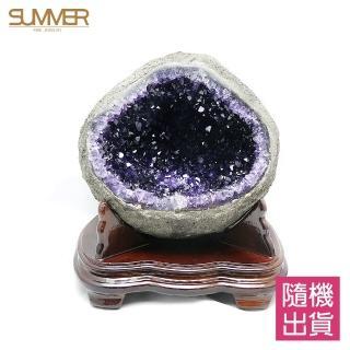 【SUMMER 寶石】天然烏拉圭紫晶洞1公斤(隨機出貨)