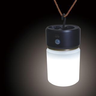 【ELPA日本朝日電器】LED感應玄關燈 灰棕色大圓 HLH-1202DB 白光(夜燈 感應燈)
