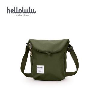 【hellolulu】DESI 休閒側背包-橄欖綠(50146-26)