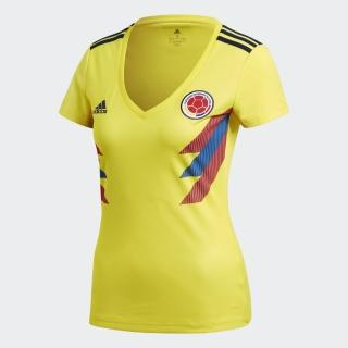 【adidas官方旗艦館】哥倫比亞國家隊球迷版主場球衣 女(BR3507)