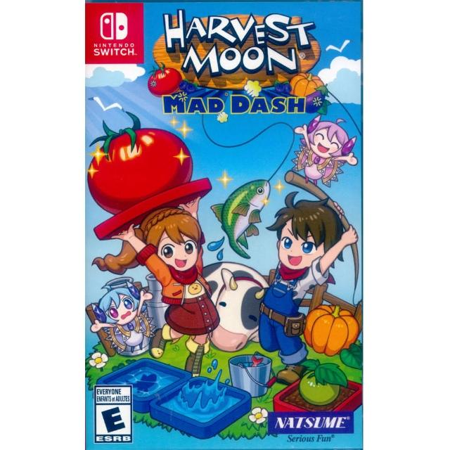 【Nintendo 任天堂】NS Switch 豐收之月:Mad Dash 中英文美版(Harvest Moon: Mad Dash)