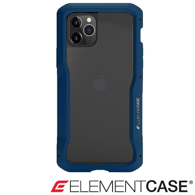 【Element Case】iPhone 11 Pro Vapor-S(頂級金屬框型軍規殼 - 藍)