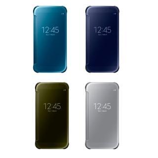 【SAMSUNG 三星】拆封新品 Galaxy S6 Clear View 原廠感應皮套