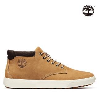【Timberland】男款小麥黃磨砂革休閒靴(A1Z3K231)