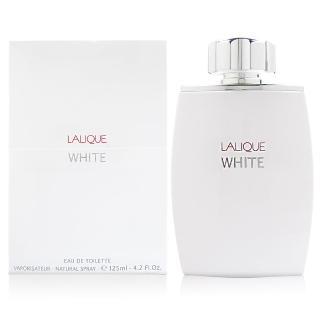 【LALIQUE 萊儷】White 白光時尚男性淡香水 125ml