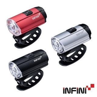 【INFINI】I-281P 鋁合金USB充電前燈(頭燈/警示燈/夜騎/安全/自行車/單車)