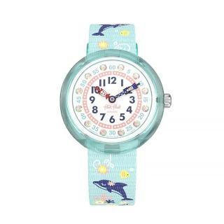 【Flik Flak】兒童錶 SWEET DOLPHIN 俏皮小海豚(31.85mm)