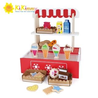 【kikimmy】木製手提甜點小賣部(附配件21件)