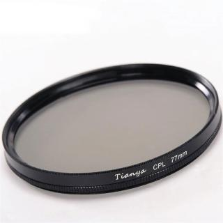 【Tianya天涯】82mm偏光鏡CPL-無鍍膜非薄框(環形偏光鏡)