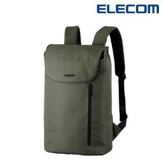 【ELECOM】normas休閒多功能後背包-綠(DGB-S039GN)