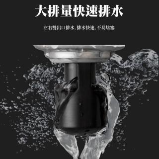 【CS22】防蟲防臭排水口地漏組-4組入(排水口地漏)