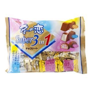 【Meito 名糖】冬之戀超級3合1巧克力161g