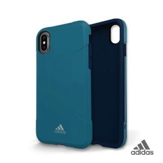 【adidas 愛迪達】iPhone X/Xs Solo Case 全保護手機殼(經典藍)
