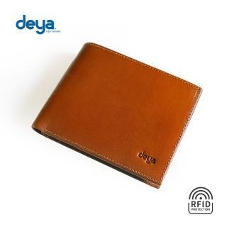 【deya】義式經典真皮RFID防盜皮夾