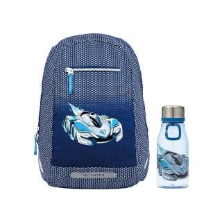 【Beckmann】週末郊遊包12L組合(藍色賽車)
