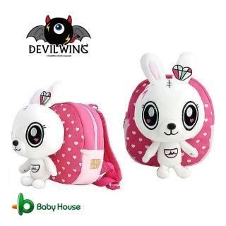 【DevilWing】小惡魔 波頓熊 蕾娜兔 幼兒防走失背包(防走失 書包)
