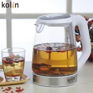 【Kolin 歌林】2.0L玻璃快煮壺(KPK-LN205G)