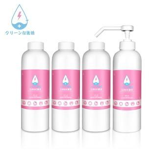 【立淨安】抗菌清潔液 500ml*4