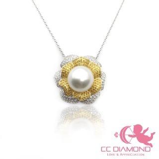 【CC Diamond】不得了了 實在太美了 果斷自留 海水南洋澳白套鏈(11-12mm)