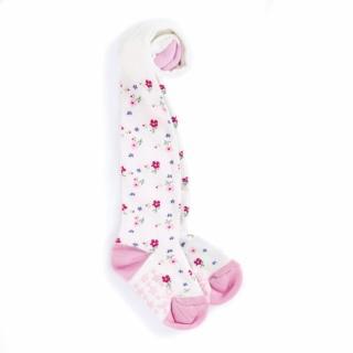 【JoJo Maman BeBe】嬰幼兒/小童內搭褲襪/保暖襪_滿版甜美花卉(JJD7886)
