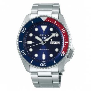 【SEIKO 精工】5 sport運動潮流機械腕錶/藍面(4R36-07G0R/SRPD53K1)