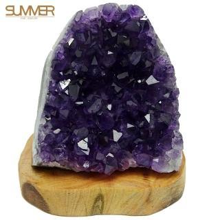 【SUMMER 寶石】烏拉圭紫晶鎮500g以上(隨機出貨)
