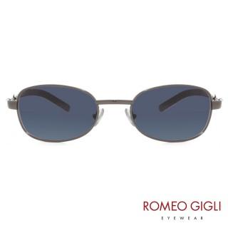 【Romeo Gigli】義大利潮流復古款眼鏡(藍-RG176-510)