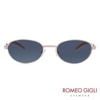 【Romeo Gigli】義大利復古配色經典太陽眼鏡(藍綠-RG177-508)