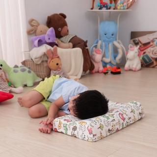 【Leafbaby】100%天然乳膠兒童枕 2入(寶貝夢想國)