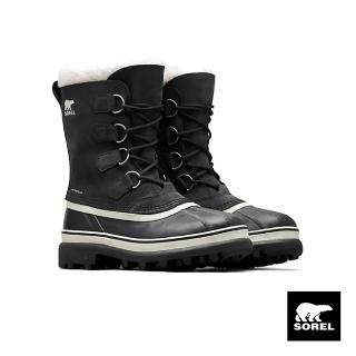 【SOREL】女款卡里布運動靴(黑色)