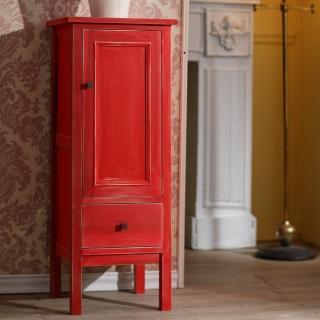 【CiS 自然行】Lamour瓶罐收納櫃 聖誕紅(玄關櫃 餐櫥櫃 立櫃 實木家具  原木傢俱)
