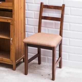 【CiS 自然行】北歐木作椅 咖啡胡桃色 深咖啡椅墊(泡棉墊 彩色椅墊 木書椅 弧形背部 北歐椅 實木家具)