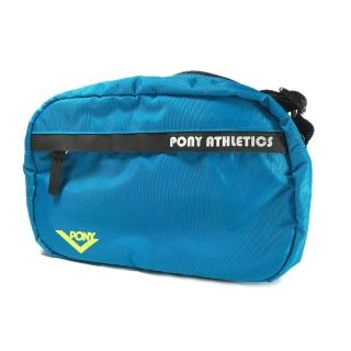 【PONY】Pony Cross Body Bag    側背包 運動 休閒 輕量 肩背 斜背 藍 黑(71U3AB81BG)