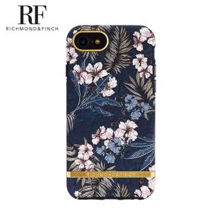【Richmond&Finch】瑞典手機殼金線框-花叢林(iPhone 6s/7/8/SE 2020 4.7吋)