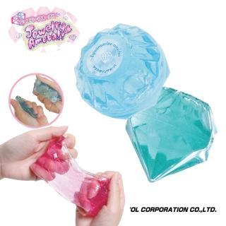 【NOL 甜蜜之家】寶石造型盒水黏土Ⅱ-共8款 採隨機出貨(療癒小物 放鬆舒壓 桌遊/禮物)