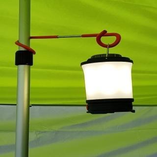 【May Shop】戶外野營多功能掛鉤豬尾巴 S螺旋雙向營地燈掛勾