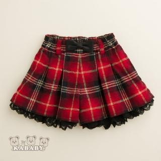 【金安德森】KA亮紗格紋短褲裙(共二色)