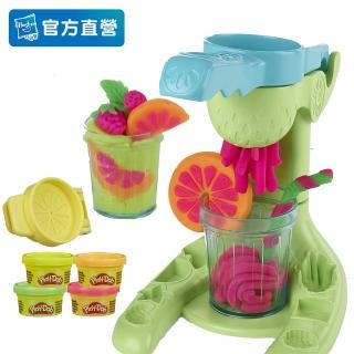 【PLAYDOH 培樂多】廚房系列(美食家遊戲組 無毒 果汁機組 E6686)