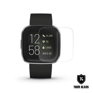 【T.G】Fitbit Versa 2 高透3D防爆水凝膜螢幕保護貼-滿版(2入)