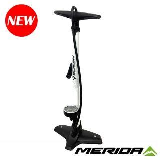 【MERIDA 美利達】地式打氣筒 聰明嘴 160psi(立地/直立式/補胎/自行車/單車)