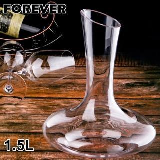 【日本FOREVER】玻璃無柄斜口醒酒壺/分酒器(1500ML)