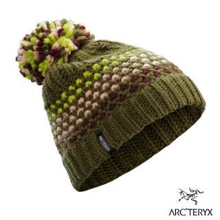 【Arcteryx 始祖鳥】Fernie 保暖編織毛球帽(林木綠)