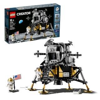 【LEGO 樂高】創意百變系列 NASA 阿波羅11號登月小艇 10266 太空 宇宙(10266)