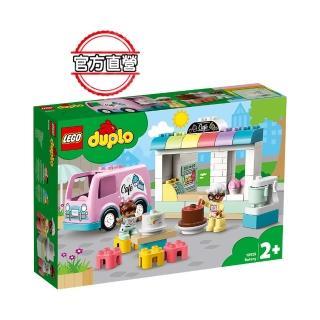 【LEGO 樂高】得寶幼兒系列 麵包店 10928 學齡前 扮演遊戲(10928)