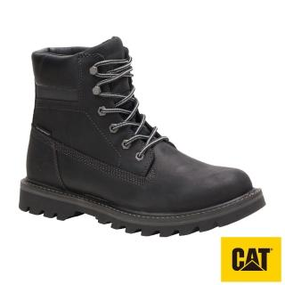 【CAT】DEPLETE 嚴選皮革經典防水靴(721724)