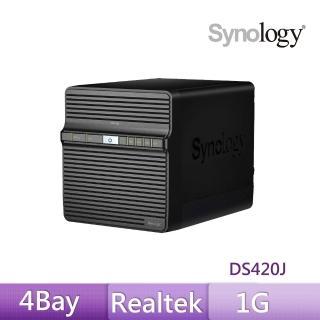 【Synology 群暉科技】DS420j 網路儲存伺服器
