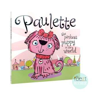 【iBezt】Paulette the Pinkest Puppy in the World(Make Believe Ideas暢銷繪本)