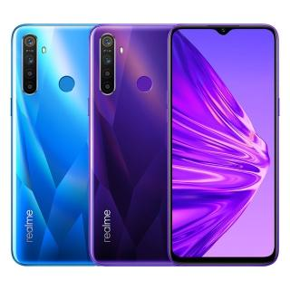 【realme】5 AI四鏡頭6.5吋大電量手機4G/128G(送8400mAh行動電源)
